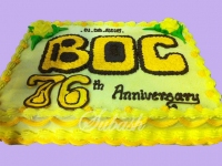 Custom Anniversary Cake