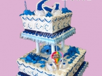 Two Story Cake