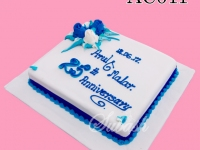 25 th Anniversary Cake