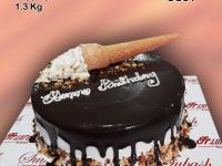 Ice Cream Chocolate Cake