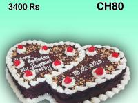 Chocolate Valentine Cake