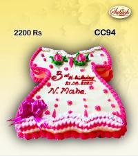 Frock Birthday cake