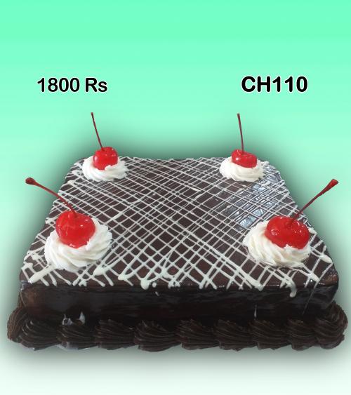 Square birthday cake