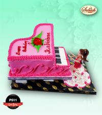 Piano Birthday Cake
