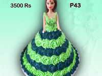 Doll Birthday cake
